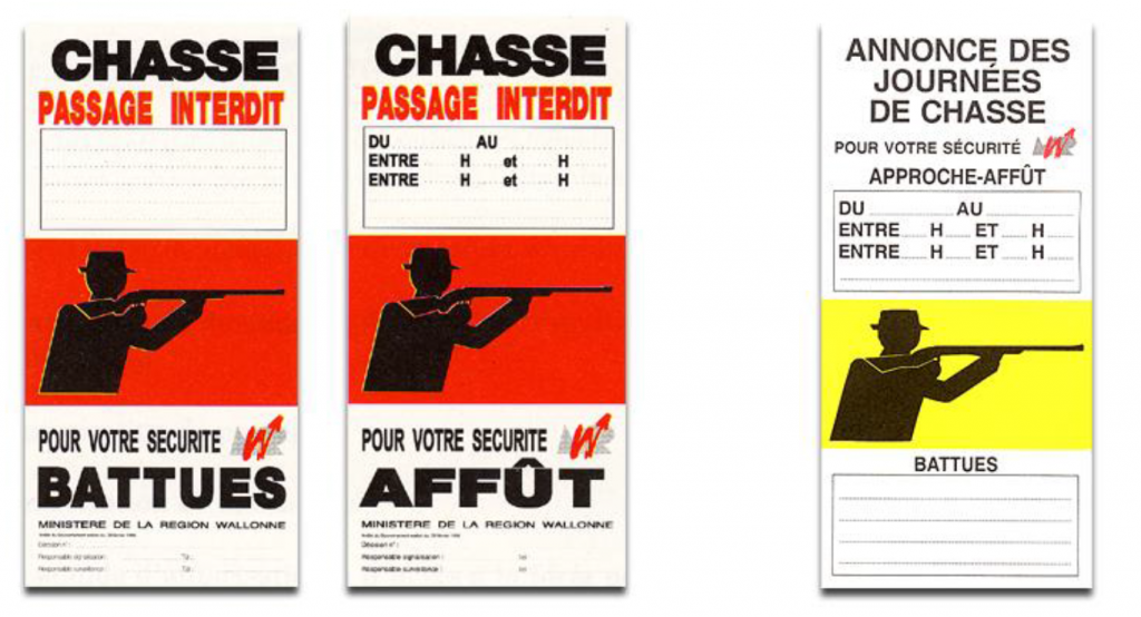 Chasse affiches